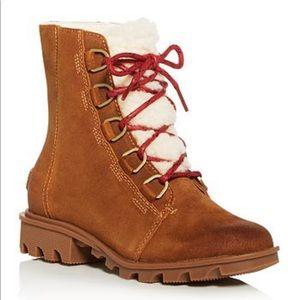 Sorel Phoenix Shearling Lined Waterproof Boots
